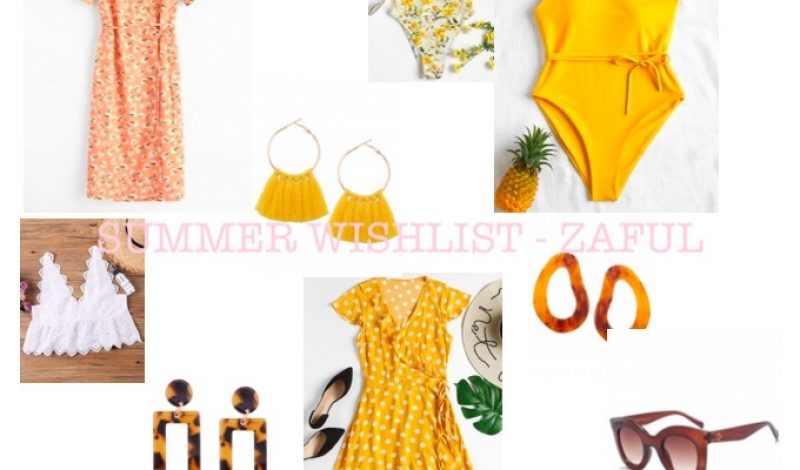SUMMER WISHLIST WITH ZAFUL