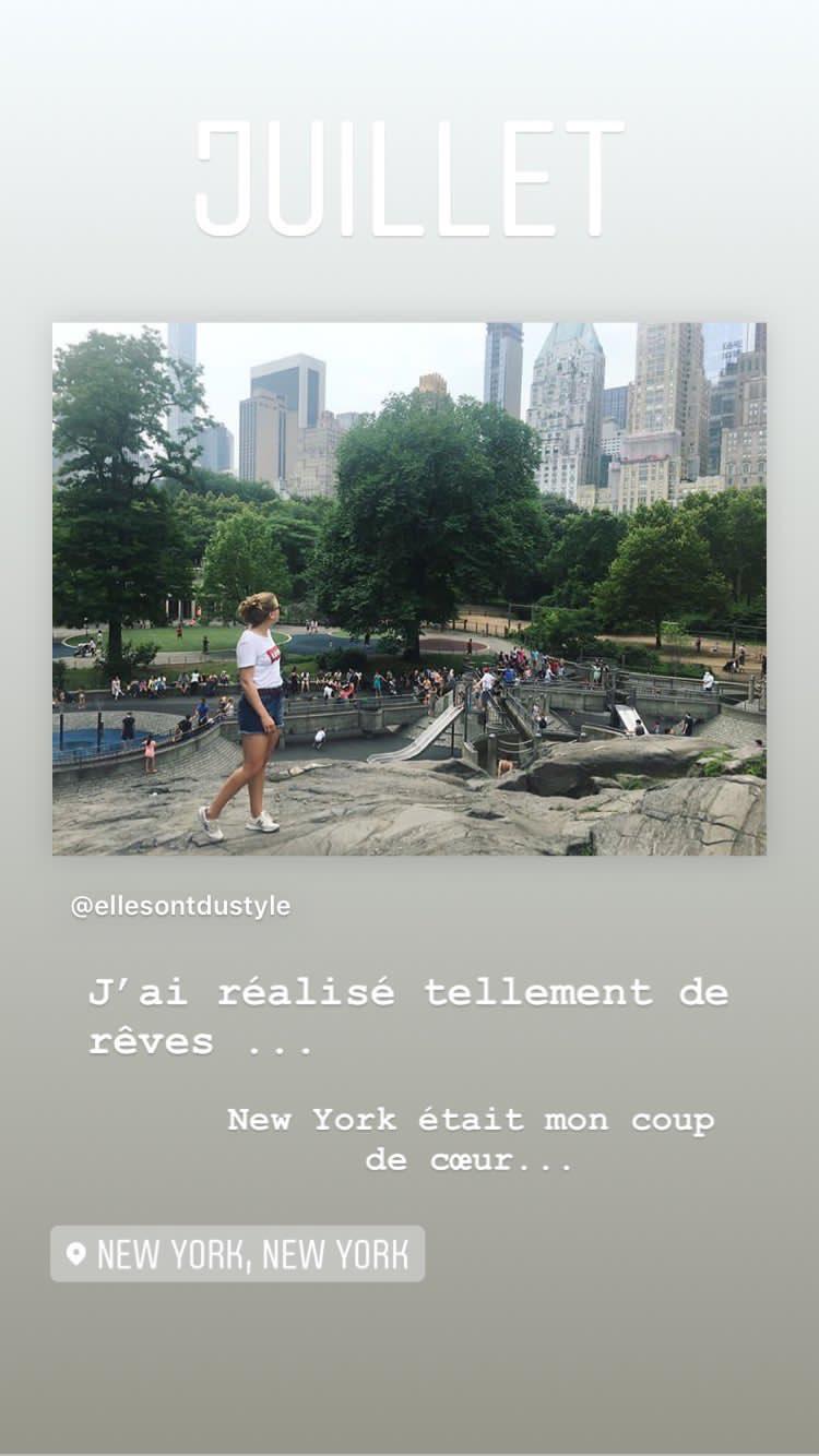 un rêve réalisé : New York City