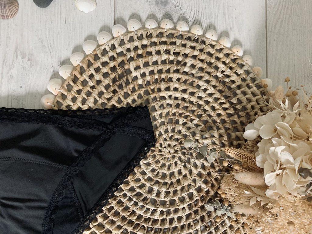 detail culotte menstruelle